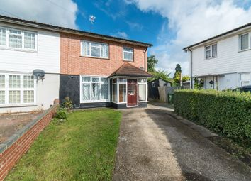 Thumbnail 3 bed semi-detached house for sale in Ufford Close, Harrow