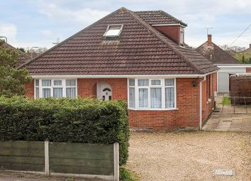 Thumbnail 4 bedroom detached bungalow for sale in Calmore Road, Totton, Southampton