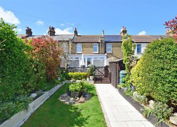 Thumbnail 3 bed terraced house for sale in Victoria Avenue, Westgate-On-Sea, Kent