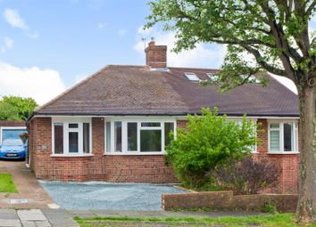 Thumbnail 2 bed semi-detached bungalow for sale in High Park Avenue, Hove