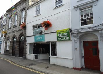 Thumbnail Retail premises for sale in 16, Arwenack Street, Falmouth