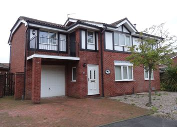 Thumbnail 4 bedroom detached house for sale in Azalea Close, Fulwood, Preston