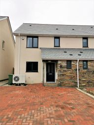 Thumbnail 3 bed semi-detached house for sale in Lynher Close, North Hill, Launceston