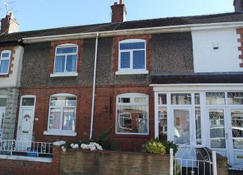 Thumbnail 2 bed terraced house to rent in Hatrell Street, Newcastle Under Lyme, Staffordshire