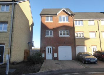 Thumbnail 3 bed town house for sale in Kings Crescent, Aylesford, Kent