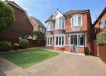 Thumbnail 4 bed detached house to rent in Craneswater Park, Southsea