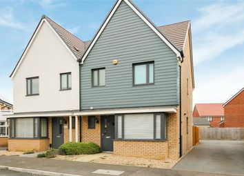 Thumbnail 3 bed semi-detached house for sale in Moore Close, Wootton, Bedford