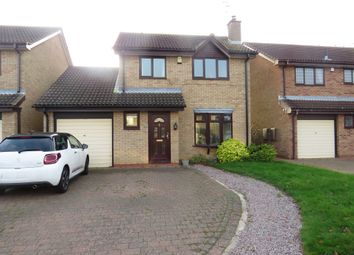 Thumbnail 3 bed detached house for sale in Keswick Close, Gunthorpe, Peterborough
