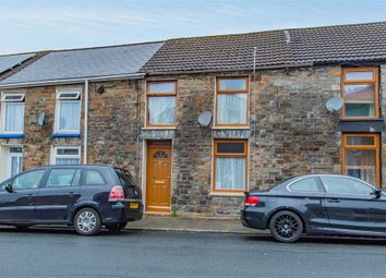 Thumbnail 3 bed terraced house for sale in Cemetery Road, Treorchy, Mid Glamorgan