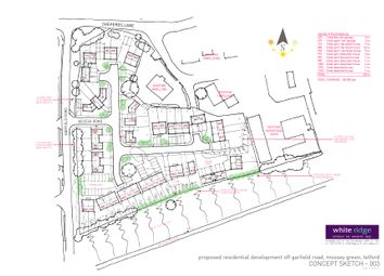 Thumbnail Land for sale in Garfield Road, Mossey Green, Telford