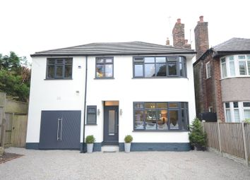 Thumbnail 4 bed detached house for sale in Newcroft Road, Woolton, Liverpool