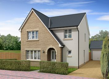 "Thumbnail 4 bedroom detached house for sale in ""Hawthorne"" at Letham Views, 9 Holme Avenue, Haddington"