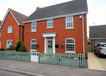 Thumbnail 4 bed detached house for sale in Monarch Way, Lowestoft