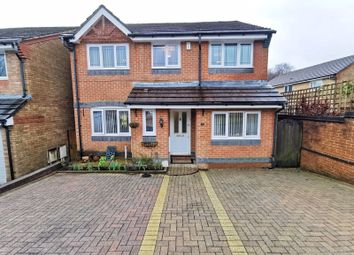 Thumbnail 4 bed detached house for sale in Cae Nant Gledyr, Caerphilly