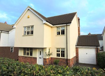 Thumbnail 4 bed detached house for sale in Stevens Lane, Felsted