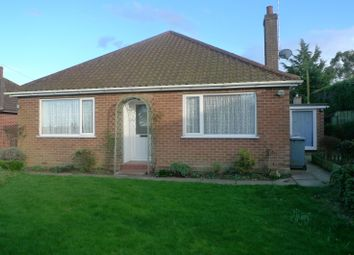 Thumbnail 3 bedroom detached bungalow for sale in Church Road, Upton, Norwich