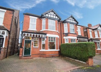 Thumbnail 4 bed semi-detached house for sale in Dalveen Avenue, Urmston
