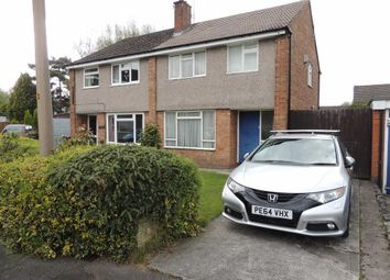 Thumbnail 3 bedroom semi-detached house for sale in Dunster Close, Hazel Grove, Stockport