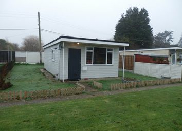 Thumbnail 2 bed mobile/park home for sale in Low Road, Dovercourt