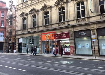 Thumbnail Restaurant/cafe to let in 44 Cross Street, Manchester