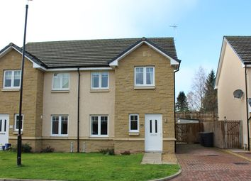 Thumbnail 3 bed semi-detached house for sale in Glassingall Road, Dunblane, Dunblane