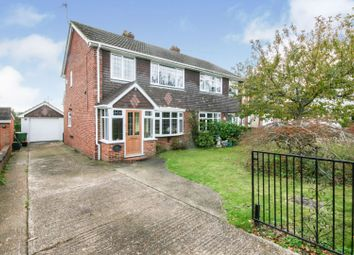 Thumbnail 3 bed semi-detached house for sale in Lower Lees Road, Canterbury