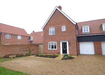 Thumbnail 3 bedroom semi-detached house for sale in Hopton Road, Barningham, Bury St. Edmunds