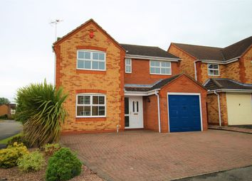 Thumbnail 4 bed detached house for sale in Ratcliffe Avenue, Branston, Burton-On-Trent