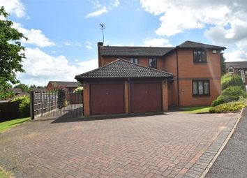 Thumbnail 4 bed detached house for sale in Nuffield Drive, Droitwich