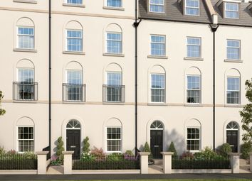 "Thumbnail 5 bed terraced house for sale in ""The Ashwell"" at Haye Road, Sherford, Plymouth"