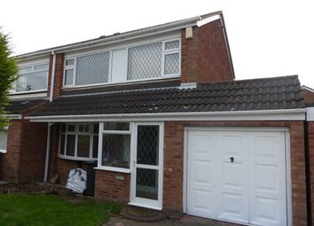 Thumbnail 3 bed semi-detached house for sale in Jowett, Tamworth