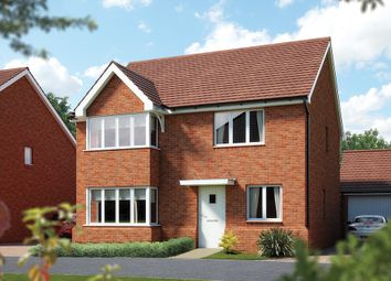 "Thumbnail 4 bed detached house for sale in ""The Canterbury"" at Chalkers Lane, Hurstpierpoint, Hassocks"