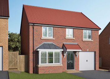 """Thumbnail 4 bed detached house for sale in """"The Barlow"""" at Stoney Haggs Road, Scarborough"""