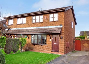 Thumbnail 3 bedroom semi-detached house for sale in Corina Way, Longton, Stoke-On-Trent