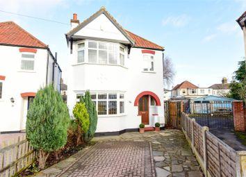 Thumbnail 3 bed detached house for sale in Brampton Gardens, Hersham, Walton-On-Thames