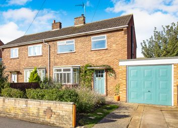 Thumbnail 3 bed semi-detached house for sale in Leys Road, St. Neots