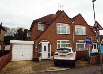 Thumbnail 3 bed semi-detached house for sale in South Way, Bognor Regis, West Sussex