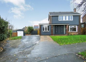Thumbnail 4 bed detached house for sale in Mill Hill Lane, Burton-On-Trent