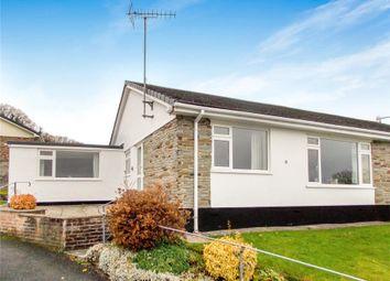 Thumbnail 2 bedroom semi-detached bungalow for sale in Hornapark Close, Lifton, Devon