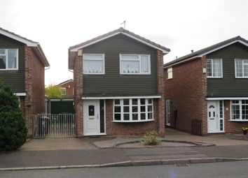 Thumbnail 3 bed detached house for sale in Romsley Close, Mickleover, Derby