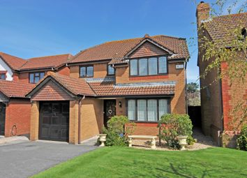 Thumbnail 4 bed detached house to rent in Berrybrook Meadow, Exminster, Exeter