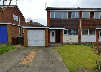 Thumbnail 3 bedroom semi-detached house for sale in Cromwell Road, Whitefield, Manchester