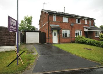 Thumbnail 2 bed semi-detached house for sale in Brentwood Drive, Farnworth, Bolton, Lancashire