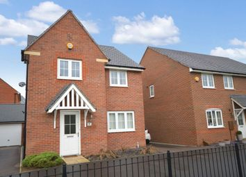 Thumbnail 4 bed detached house for sale in Sunderland Close, Church Gresley, Swadlincote
