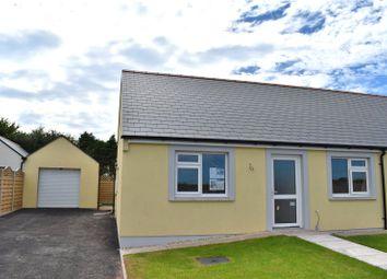 Thumbnail 2 bed bungalow for sale in Plot 21, Bowett Close, Hundleton, Pembroke