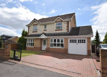 Thumbnail 4 bed detached house for sale in Redhill Avenue, Glasshoughton, Castleford