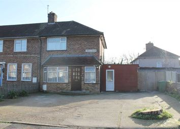 Thumbnail 3 bed end terrace house to rent in Liddell Close, Queensbury, Harrow
