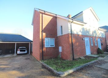 Thumbnail 2 bed semi-detached house for sale in Old Vicarage Close, Heathfield