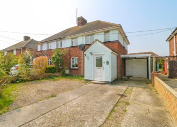Thumbnail 3 bed semi-detached house for sale in Old School Lane, Elmstead, Colchester