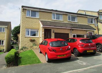 Thumbnail 3 bed end terrace house for sale in Netherlea Drive, Netherthong, Holmfirth